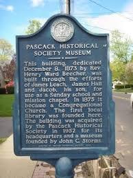 Pascack Historical Society III