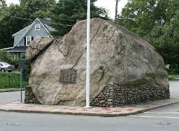 The 'Rock' on Rock Road off downtown Glen Rock, NJ 07452