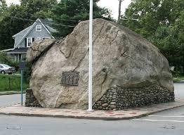 The 'Rock' on Rock Road off downtown Glen Rock, NJ07452