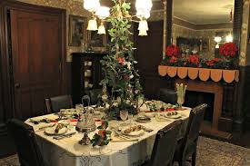 Physick home at Christmas