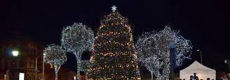 Christmas Tree at Hackensack Green