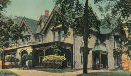 The Hoyt Mansion in its Heyday
