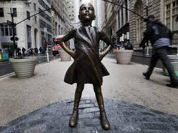 Fearless Girl Statue  Bowling Green Park  New York City, NY 10004