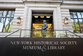 New York Historical Society Museum & Library  170 Central Park West  New York, NY 10024