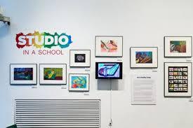 Studio in the School Gallery